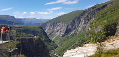Norwegen-Voringfossen-Landschaft-Aussichtsplattform-4