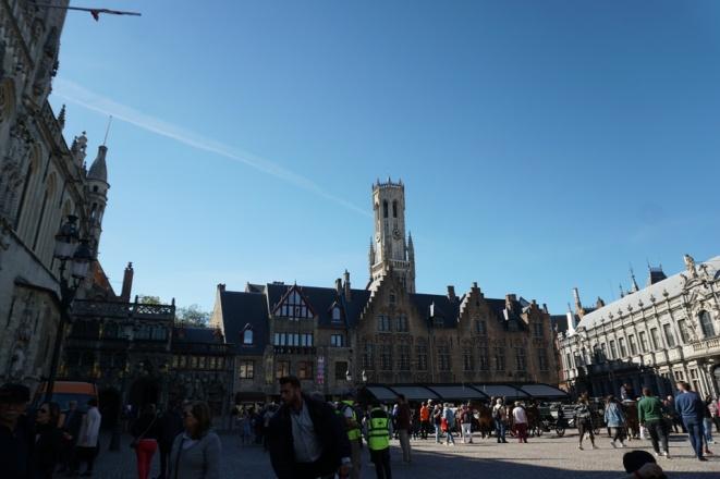 Bruegge-Marktplatz-Belfried-3