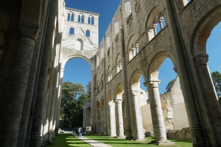 Normandie-Abtei_Jumieges-Ruine-1