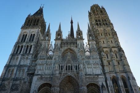 Rouen-Kathedrale-Aussenansicht-2